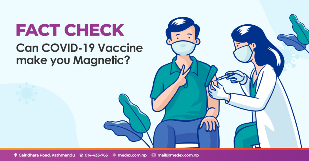 Fact Check: Can COVID-19 Vaccine make you Magnetic?